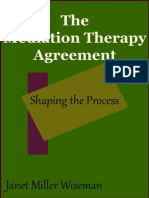 The Mediation Therapy Agreement