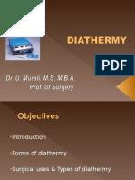 Diathermy concepts