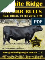 Granite Ridge Bull Sale Catalogue 2017