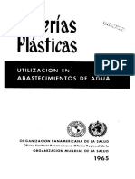 Tuberías Plásticas en Abastecimiento de Agua