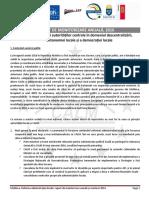 RAPORT DE MONITORIZARE ANUALĂ, 2016 a performanței autorităților centrale în domeniul descentralizării, autonomiei locale și a democrației locale