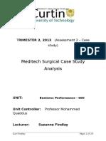 Meditech Model Response