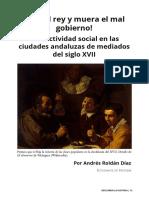 ¡Viva el rey y muera el mal gobierno! Conflictividad social en las ciudades andaluzas de mediados del siglo XVII