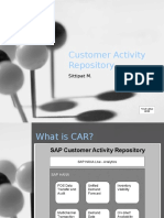 Customer Activity Repository