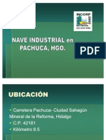 NAVE INDUSTRIAL ENVENTA EN PACHUCA, HGO, MEX.