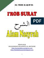 i'Rob Surat Alam Nasyrah