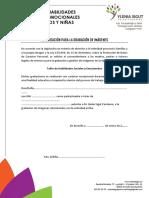 Autorización Para Grabaciones