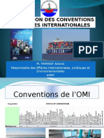 Ratification Des Conventions Maritimes Internationales Adonis