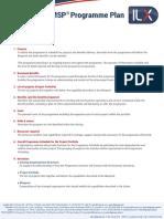 MSP Programme Plan