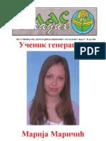 Глас младих - број 57, 28. јун 2010. лист ученика ОШ ''Херој Радмила Шишковић''