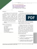 1-Roleof Ultrasonography in Thyroid Swellings