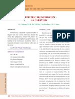 6.Paediatric Bronchoscopy