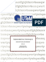Thesis Writing Technique Using Microsoftword and Mendeley (1)