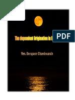Dependent Origination in Buddhism by Dorapane Chandananda