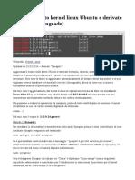 aggiornare kernel.pdf