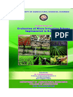 Micro Irrigation docs