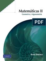 Matemáticas II Geometría y Trigonometría-René Jiménez