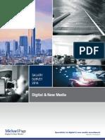 Salary survey Digital