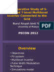 A Comparative Study of 5-Level and 7-Level Multilevel Inverter Connected to the Grid