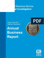 REPORT Fy2013 Ci Annual Report 02-14-2014