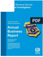 REPORT Fy2012 Ci Annual Report 05-09-2013