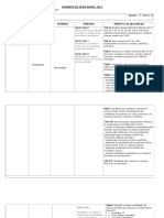 Planificacion Anual de Matematica