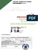 Proyecto Club de Gastronomia