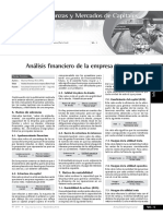 Analisis Financiero de La Empresa Final