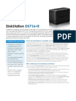 Synology DS716+II Data Sheet