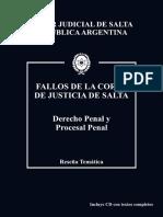 Poder Judicial de Salta - Fallos de La Corte de Justicia de SALTA
