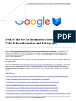 Download 3d Geo Information Sciences Lecture Notes in Geoinformation and Cartography.pdf