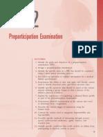 Preparticipation Examination