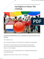 Gay Pride & Gay Rights in China_ a Dutch Perspective