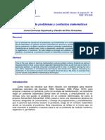 Resolución de Problemas y Contextos Matemáticos