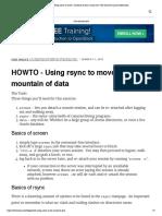 Rsync-data _ Linux