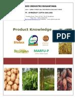 Product Knowledge Bionusa