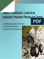 DO (GADE 2013-14) - Tema 9 - Planificación