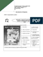 Guía de spanish N°2 Afiche segundos