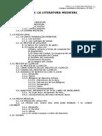 Tema 3 La Literatura Medieval Curso 2013 4