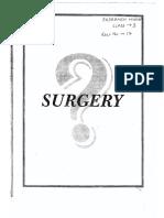 General surgery MCQ
