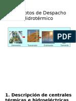 1. Conceptos Despacho Hidrotérmico