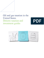 Oil and Gas Taxation in the United States