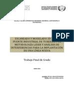 CORACHÁN - Escaneado y Modelado 3D de Un Puente Industrial de Tuberías Por Metodología Láser y an...