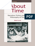 (Frontiers of Theory) Currie, Mark-About Time _ Narrative, Fiction and the Philosophy of Time-Edinburgh University Press (2007)