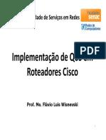 QoS Aula_06 - Implementação de QoS Em Roteadores Cisco