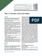 Sexualitate Cultura Religie