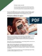 Os Principais Problemas Do Cigarro a Saúde e Como Evitar