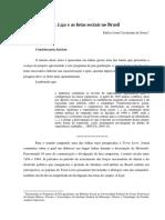 A Liga e as Lutas Sociais No Brasil - Enilce Lima Cavalcante de Souza