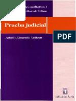 Temas Procesales Conflictivos i - Prueba Judicial - Adolfo Alvarado Velloso
