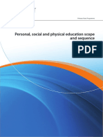 Personal, Social and Physical Education Scope